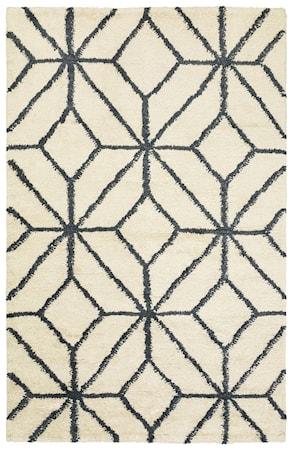 Berber Ayur Matta Ull Vit/Grey Melange 180x270 cm