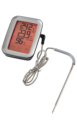 Digital ugnstermometer, touch screen