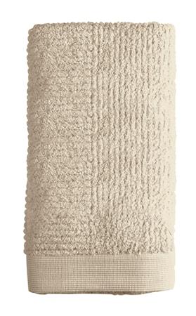 Zone Denmark Håndklæde - Sand - Stk. - Classic - 100% bomuld - 600 g - Mat - L 100,0cm - B 50,0cm - Sleeve thumbnail