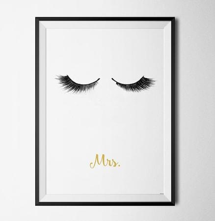 Bilde av Konstgaraget Mr & Mrs her poster