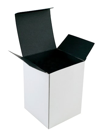 Bilde av 1-pakning Kartong, Hvit