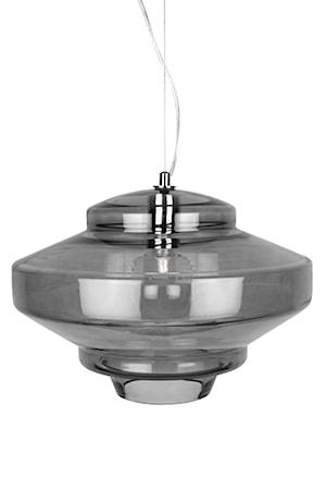 Bilde av Globen Lighting Pendel Duomo Røyk / Krom