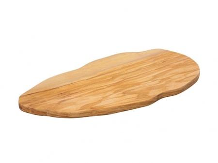 Zassenhaus Skærebræt Oliven uregelmæssig 37x17cm oliven thumbnail