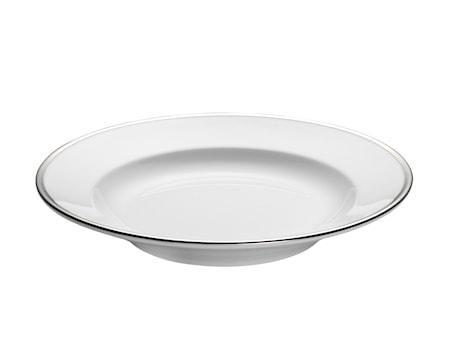 Pillivuyt Bistro Syvä lautanen valkohopea 23 cl
