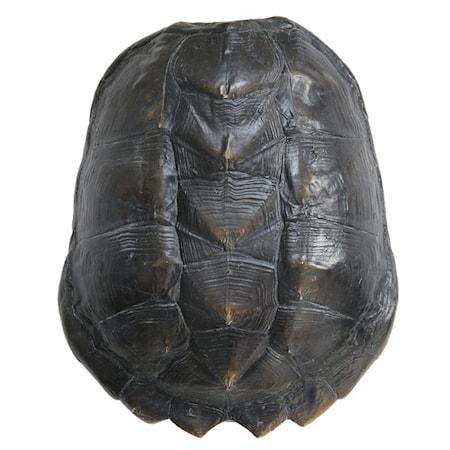 Artificiellt Sköldpaddsskal Svart