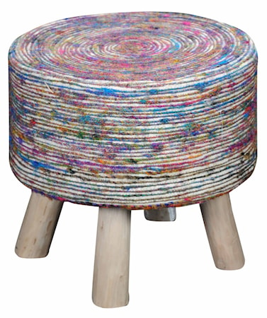 The Rug Republic Silk pall ? Vit