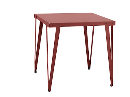 Functionals Lloyd high table barbord ? 110x110, mörkröd