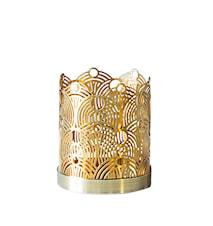 Lunar Small Candleholder design Lara Bohinc, Brass 7 cm