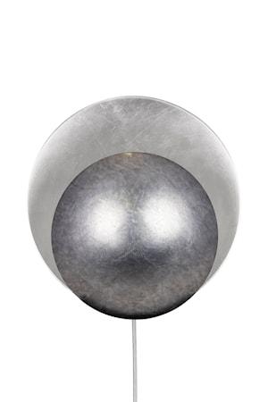 Vägglampa Orbit Antiksilver