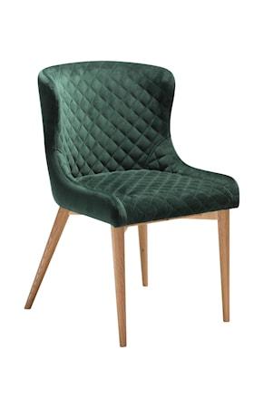 Dan Form Denmark Stol Vetro Velour - Emerald Grön