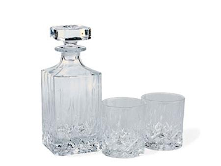 Lyngby Glas Lounge Whiskysetti 3 osaa