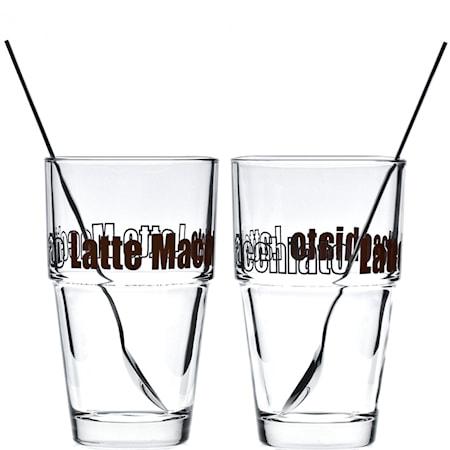 Leonardo Solo lasi Latte Macchiato 4 osaa