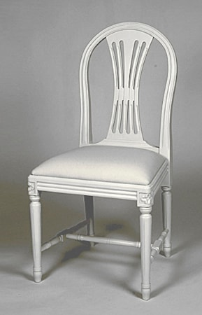 Kallholmen Hildur stol - kritvit