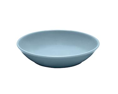 Blå Bretagne tallrik djup mörkblå 20 cm