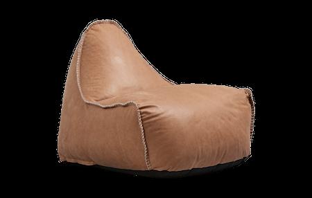 SACKit RETROit Dunes Läder Sittsäck - Camel