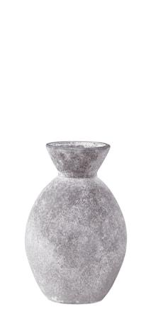 KJ Collection Vase - Glas - Grå - Frostet - D 6,8cm - H 10,5cm - Stk. thumbnail