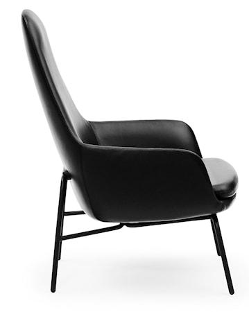 Normann Copenhagen Era Lounge Chair High Steel - Tango