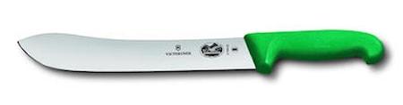 Slaktkniv Fibroxhandtag Grön 25 cm