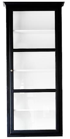 Lindebjerg Design V4 vitrinskåp ? Svart