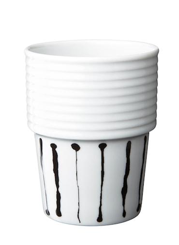 Filippa K Te- & kaffemugg Ink Stripe 2-pack