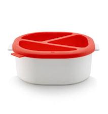 Chokladfondue set, röd