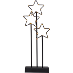 824683 Ljusstake Starry batteridriven 40cm hög med ljusslinga