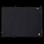 824142 Deltaco gamingmusmatta med corduratyp med undersida i naturgummi svart
