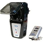 821851 Nexa fjärrströmbrytare för utomhusbruk IP44 med fjärrkontroll