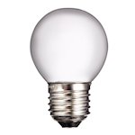 824702 Glödlampa litet klot matt 12v 25W E27