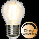 824405 Illuminaton LED litet klot 4.2W 420lm 2700K dimbar E27