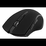 821222 Deltaco optisk trådlös mus med skrollhjul, 5 knappar, svart