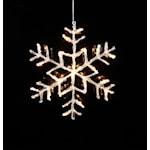 821530 Stjärna Antarctica LED 40cm varmvit