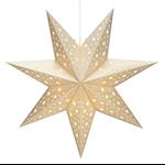 824483 Markslöjd pappersstjärna Solvalla 45cm guld