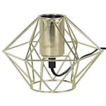 822055 Edge lamphållare i metall 17cm, mässingsfärgad