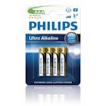 114703 Philips 4-pack Batterier AAA Ultra Alkaline 1,5V
