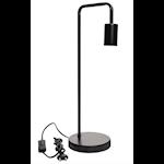 824527 Airam Nita bordslampa svart 49cm hög E27