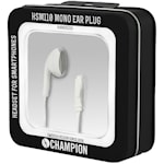 822129 Champion Headset Mono Ear Plug Vit