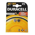 118911 Duracell 2-pack batteri silveroxid SR44H alt 357/303 1,55V