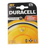 118914 Duracell batteri silveroxid SR60 alt 364 1,55V