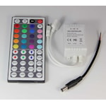 105801 RGB Kontrollenhet IR med fjärrkontroll