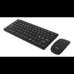 821948 Deltaco trådlöst minitangentbord och mus nordisk layout USB svart