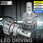 280702 LEDISON 2-pack H4 LED 27W 1988lm 3000-10000K