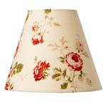 824275 Lampskärm Lupin rosa, E27 ringfäste, 19cm hög