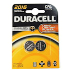 118901 Duracell 2-pack batteri litium CR2016 3V