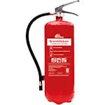 821699 Nexa brandsläckare 12kg ABC-pulver 55A väggfäste röd