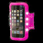 822229 Wowow reflexarmband med LED-belysning för smartphones