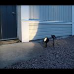 824377 Spotlight solenergi 30lm 26cm hög
