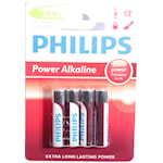 126102 Philips batteri AAA 4-pack Power Alkaline
