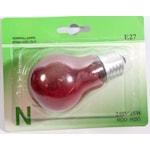 311628 Glödlampa röd normalform 25W E27