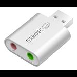 824141 Terratec Aureon Dual USB mini, ljudkort, 16-bitars, 48 kHz, stereo, USB